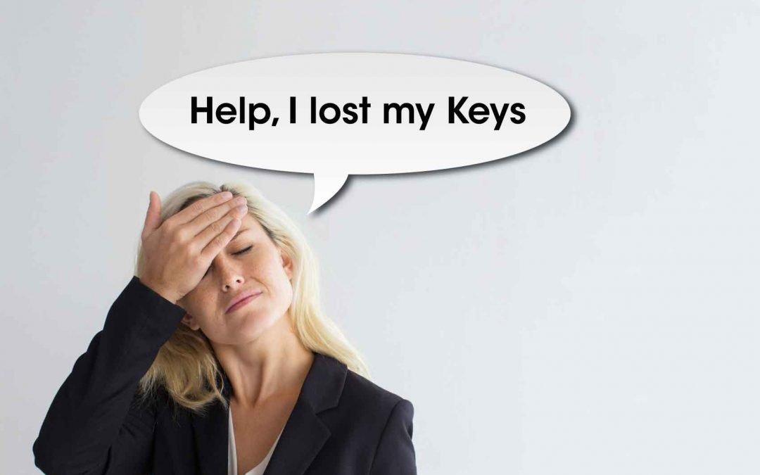 Help! I lost my keys