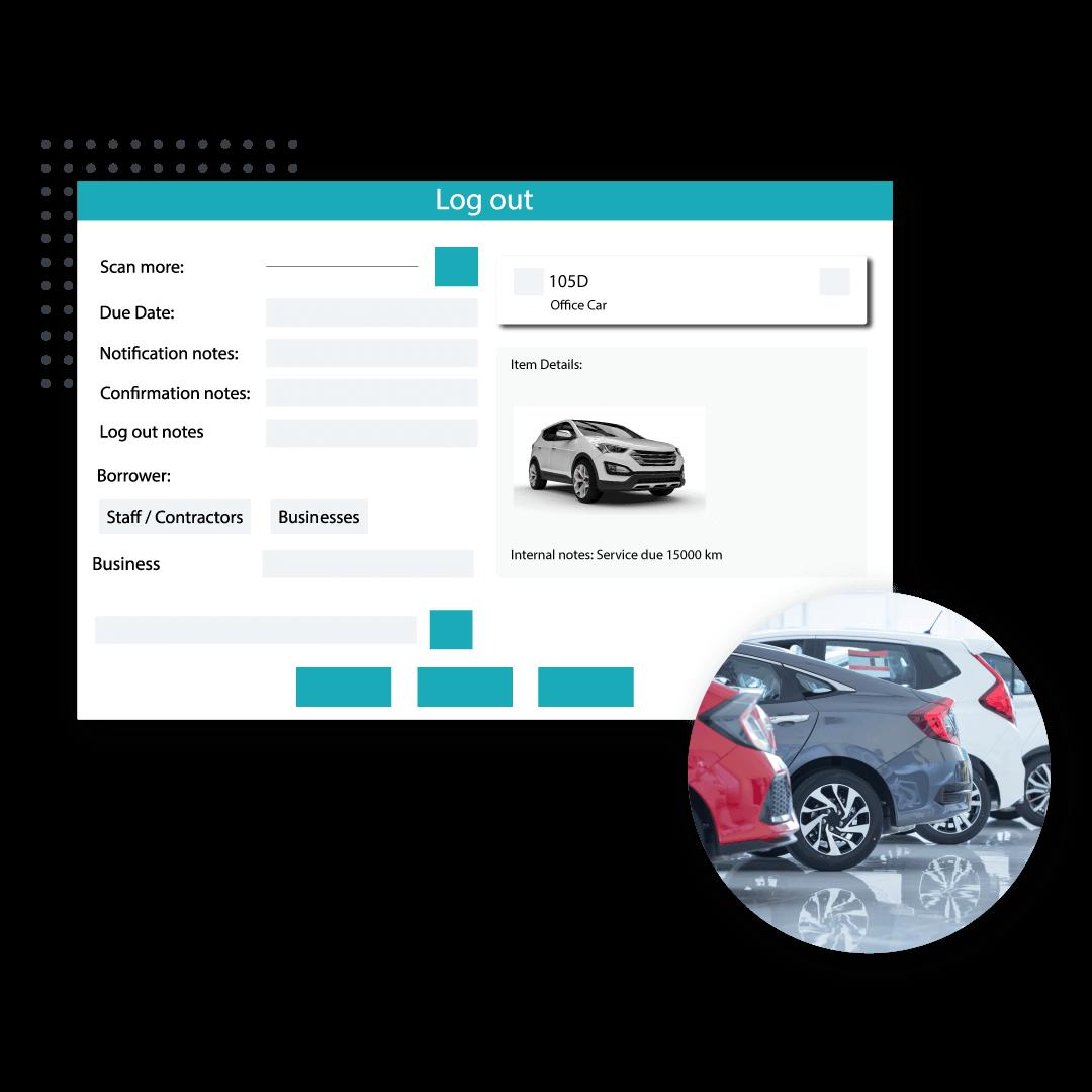 Vehicles Module on Logitout dashboard